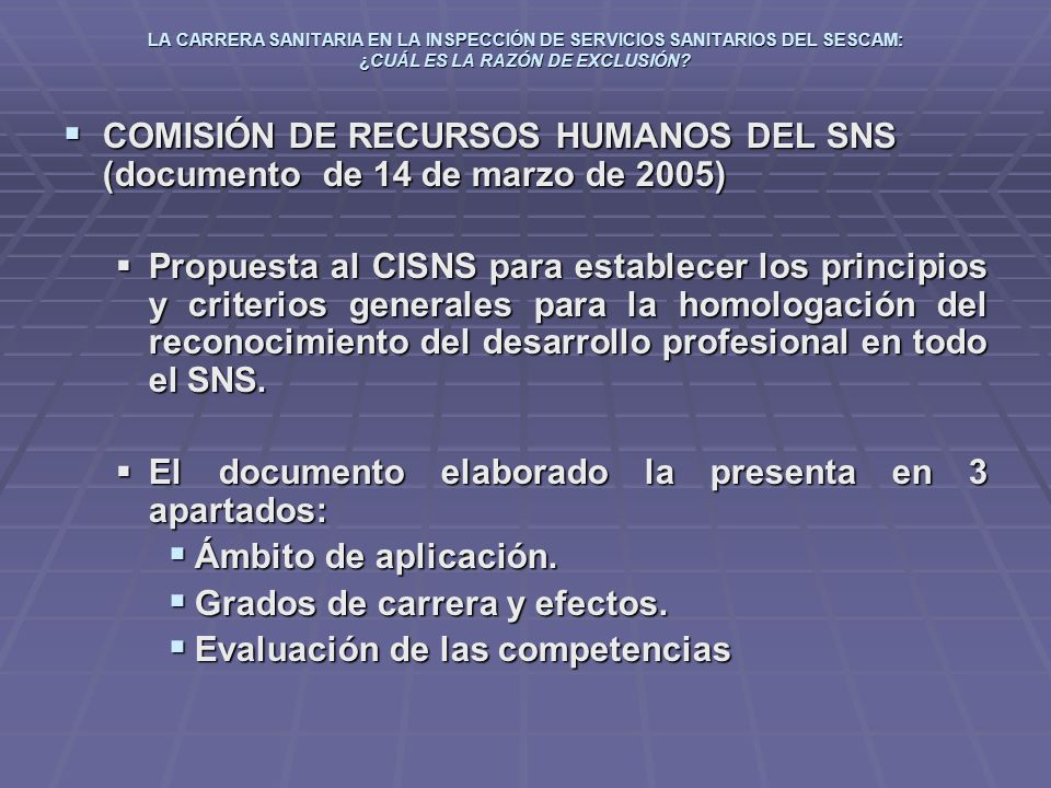El documento elaborado la presenta en 3 apartados: