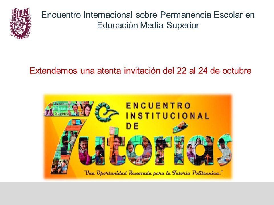 Extendemos una atenta invitación del 22 al 24 de octubre