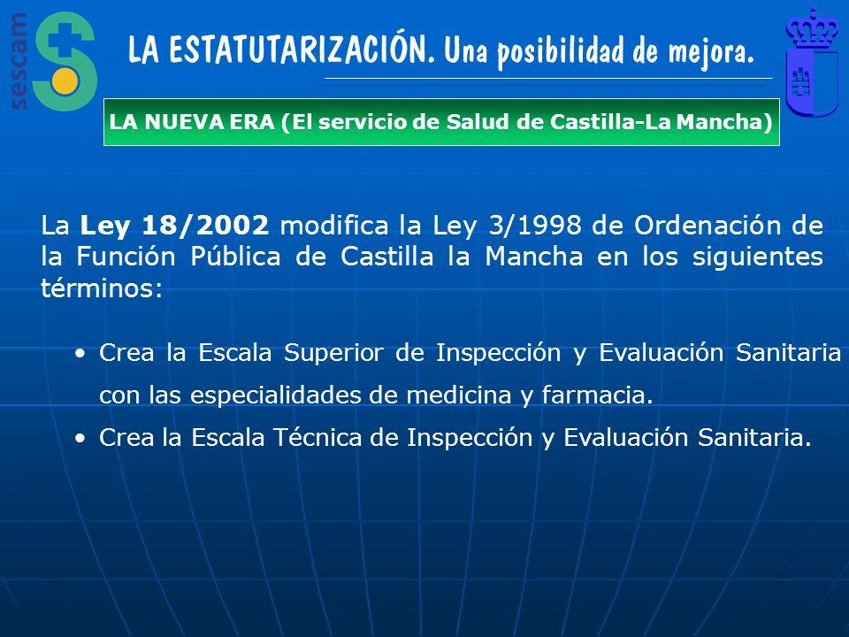 LA NUEVA ERA (El servicio de Salud de Castilla-La Mancha)