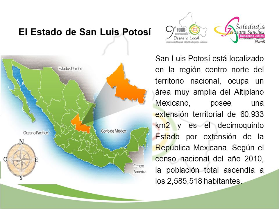 El Estado de San Luis Potosí
