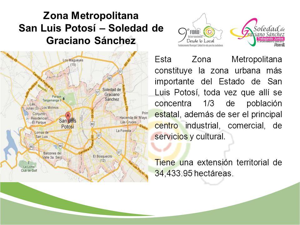 Zona Metropolitana San Luis Potosí – Soledad de Graciano Sánchez