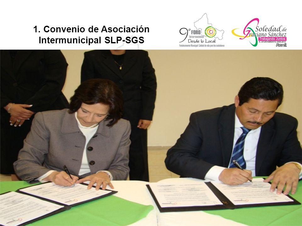 1. Convenio de Asociación Intermunicipal SLP-SGS