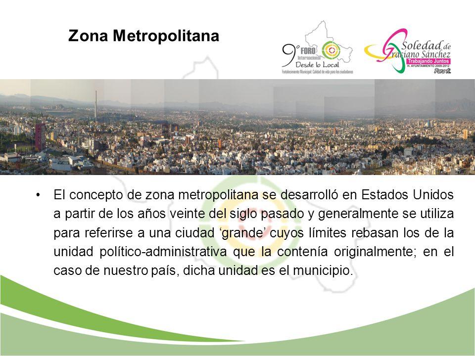Zona Metropolitana