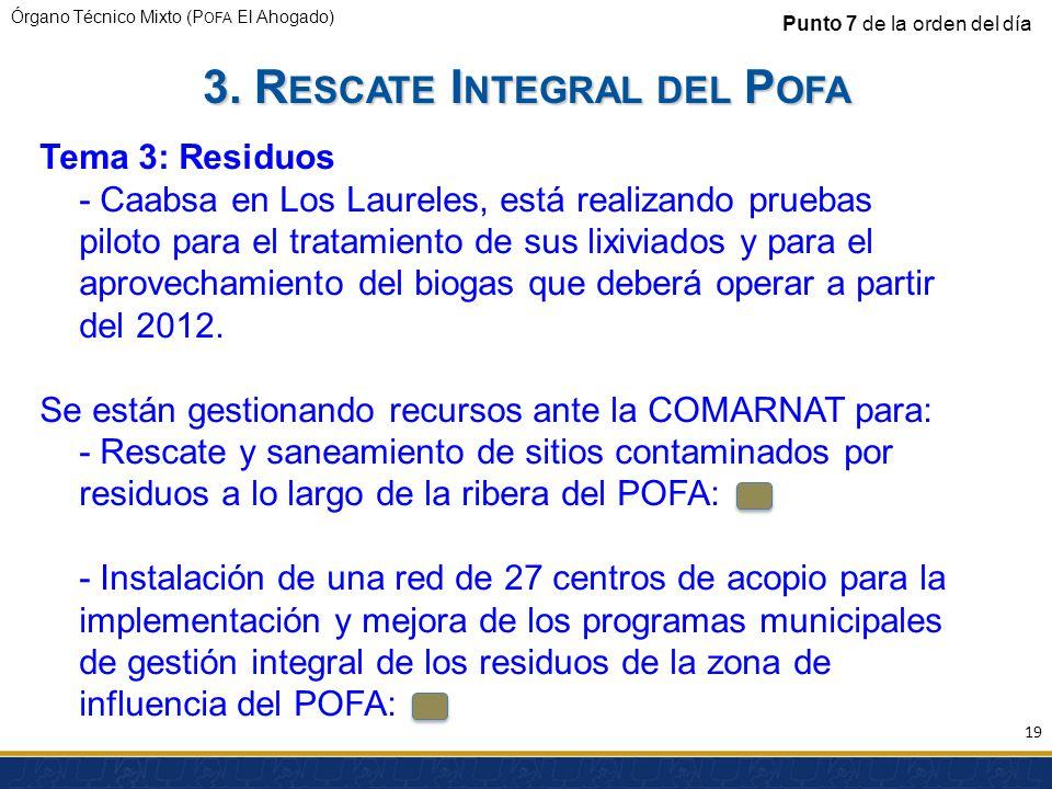 3. Rescate Integral del Pofa