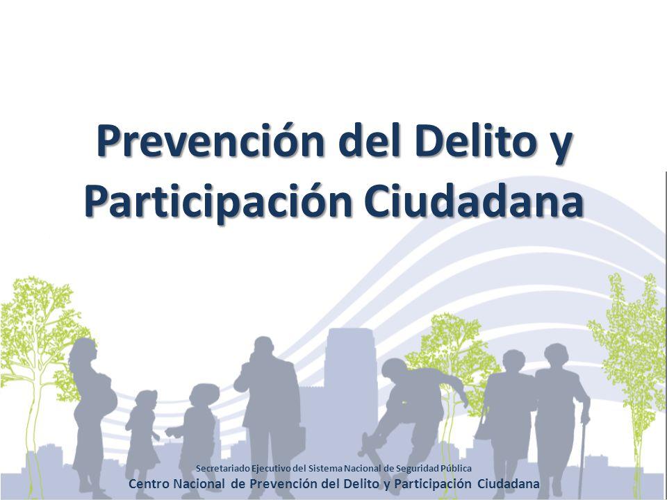Prevención del Delito y Participación Ciudadana