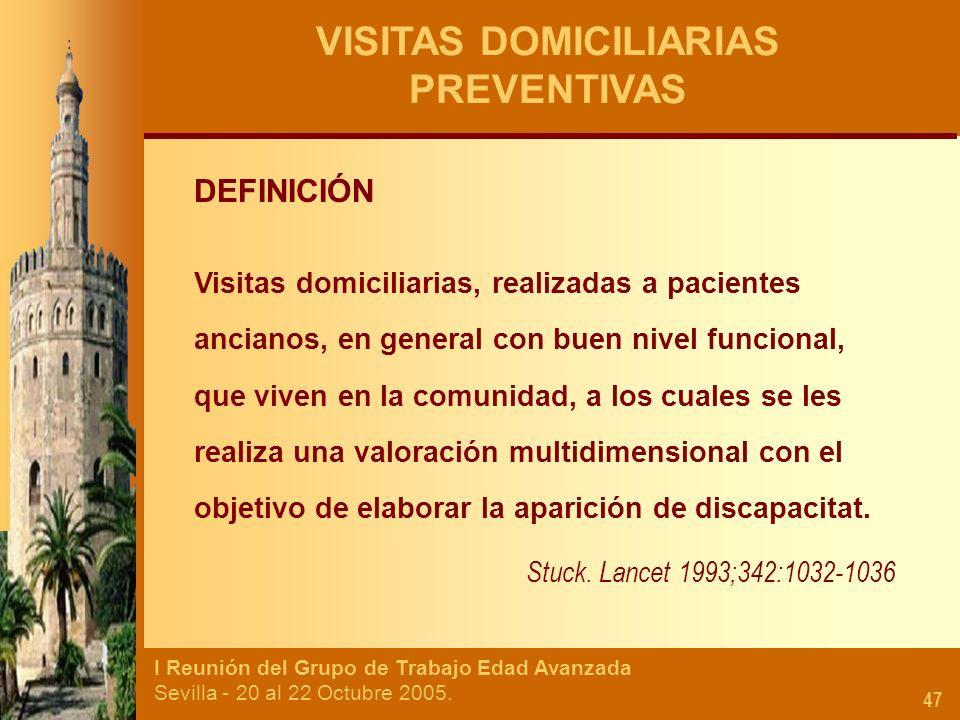VISITAS DOMICILIARIAS PREVENTIVAS
