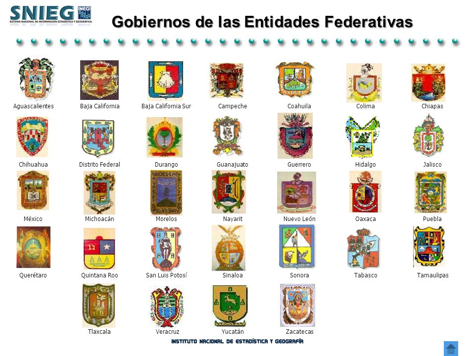 Gobiernos de las Entidades Federativas