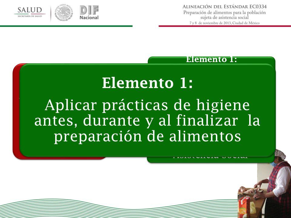 PREPARACIÓN DE ALIMENTOS PARA LA POBLACIÓN SUJETA DE ASISTENCIA SOCIAL