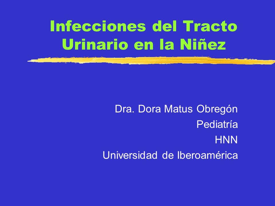 Infecciones del Tracto Urinario en la Niñez