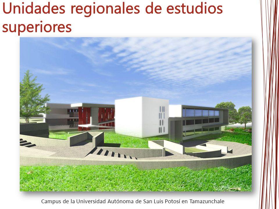 Unidades regionales de estudios superiores