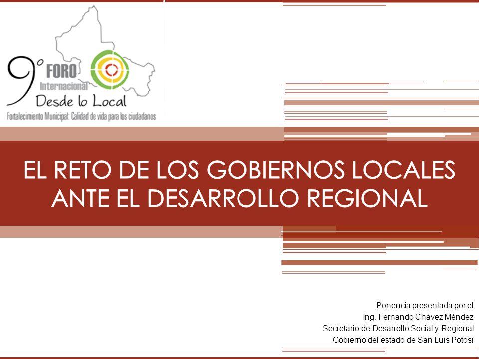 EL RETO DE LOS GOBIERNOS LOCALES ANTE EL DESARROLLO REGIONAL
