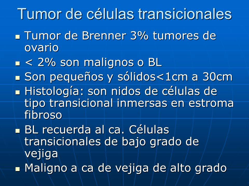 Tumor de células transicionales