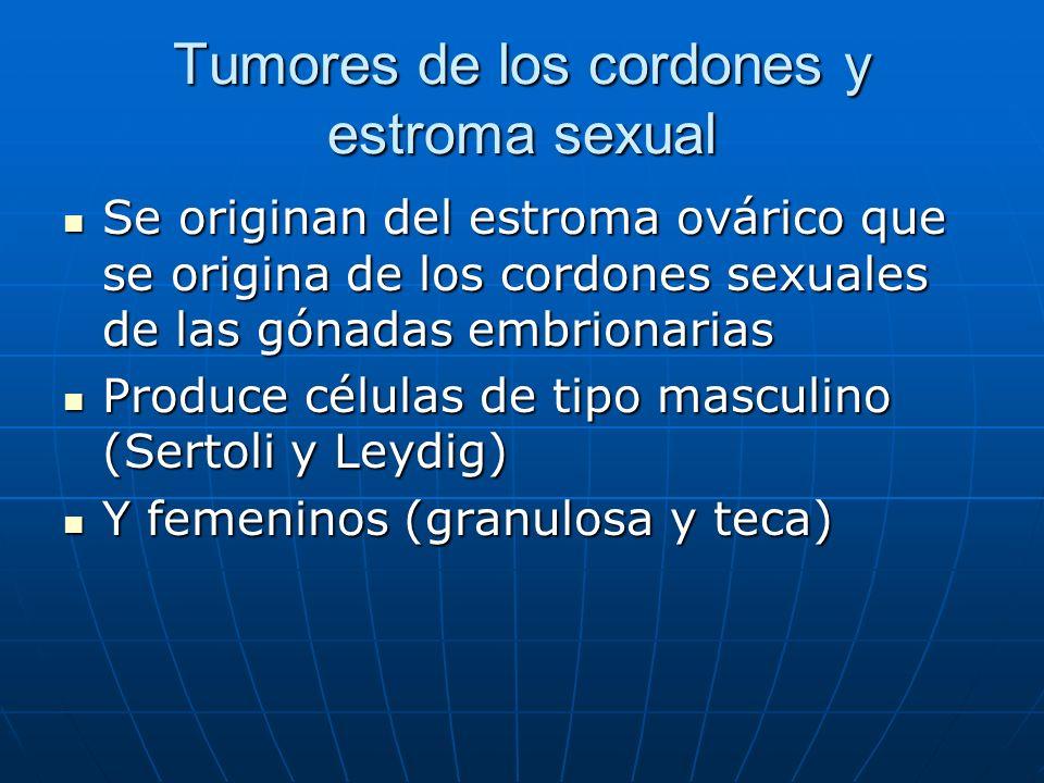 Tumores de los cordones y estroma sexual