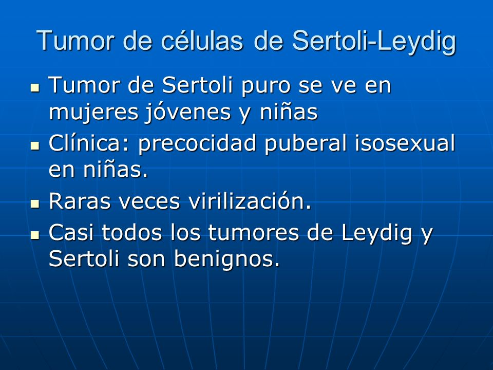 Tumor de células de Sertoli-Leydig