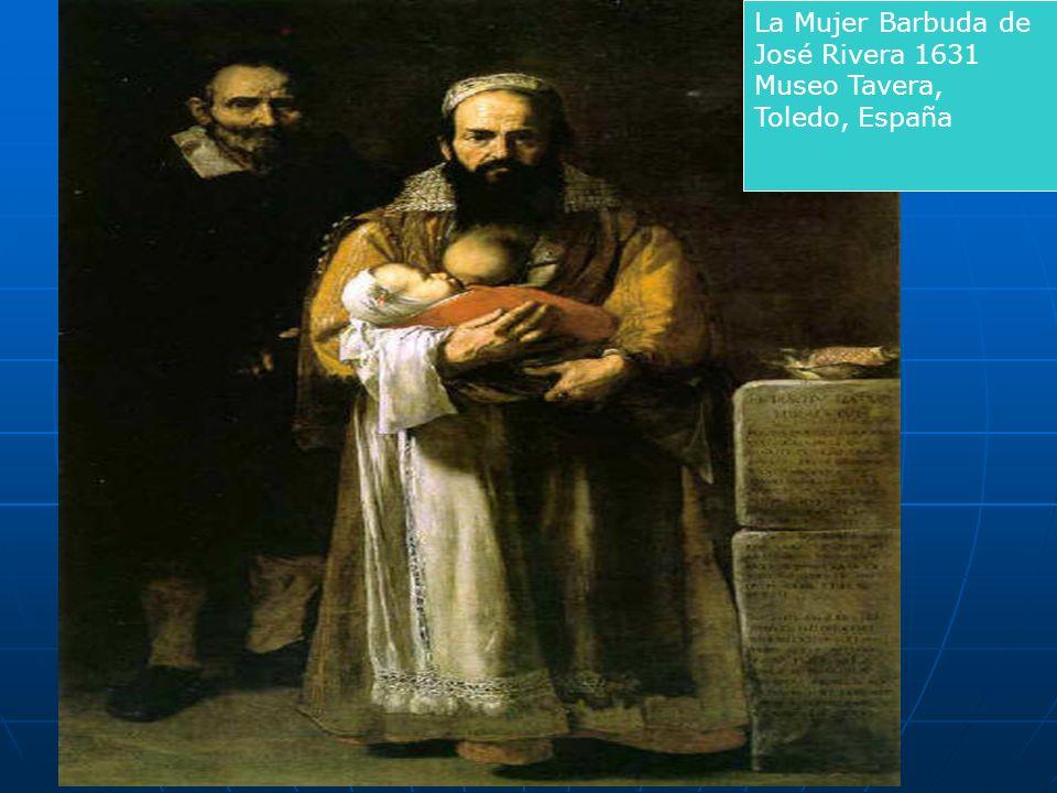 La mujer barbuda (José de Ribera, 1631)