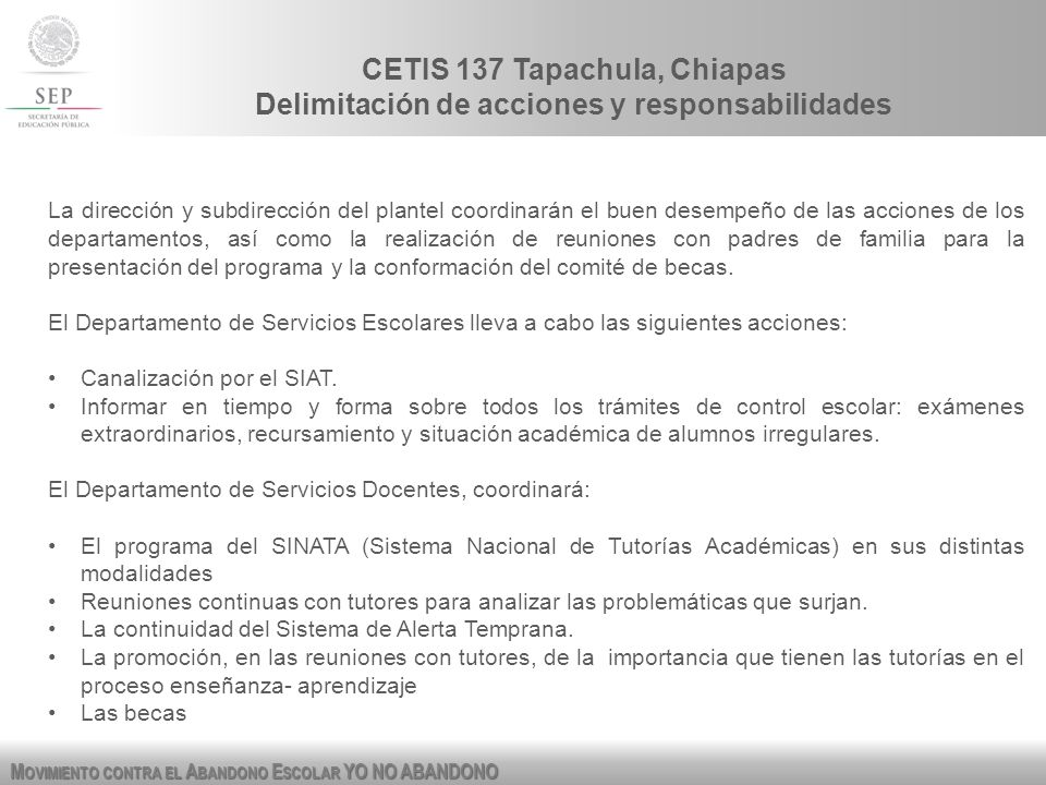 CETIS 137 Tapachula, Chiapas
