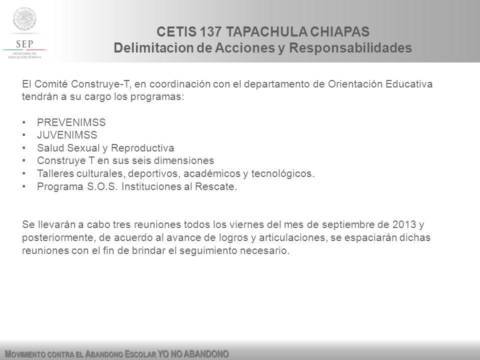 CETIS 137 TAPACHULA CHIAPAS