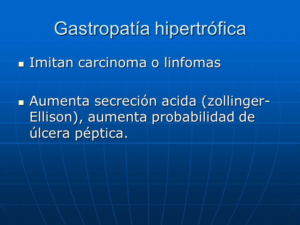 Gastropatía hipertrófica