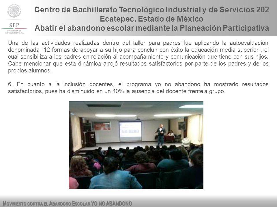 Centro de Bachillerato Tecnológico Industrial y de Servicios 202