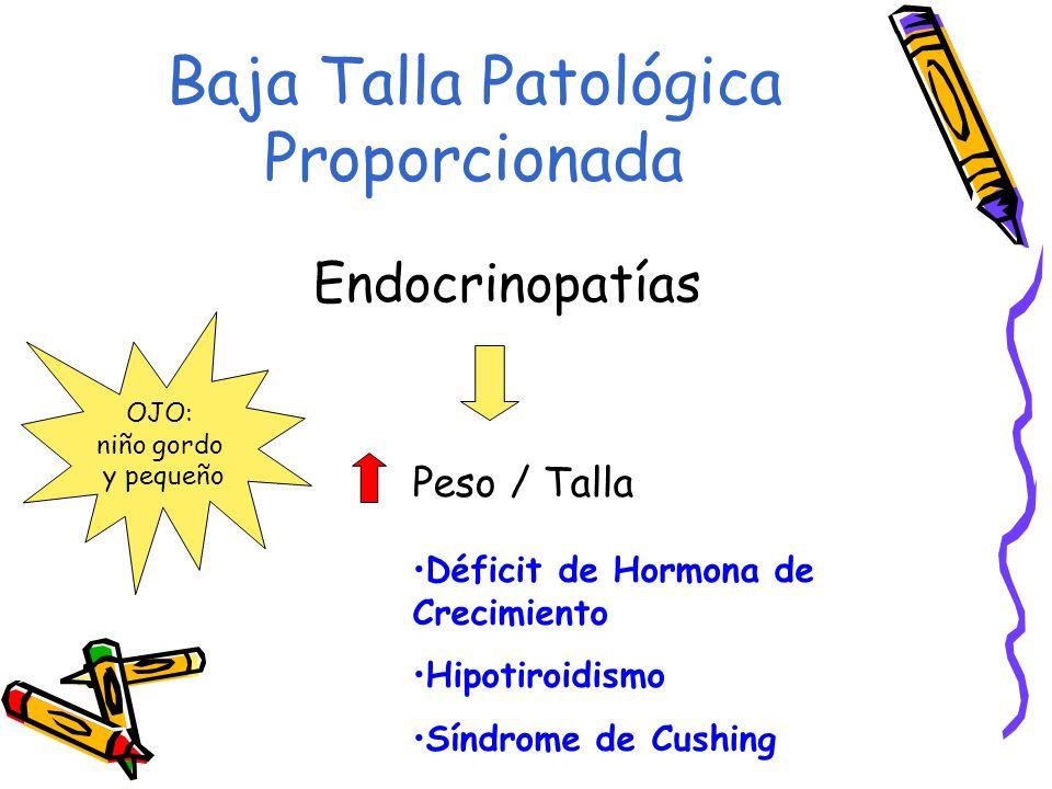 Baja Talla Patológica Proporcionada