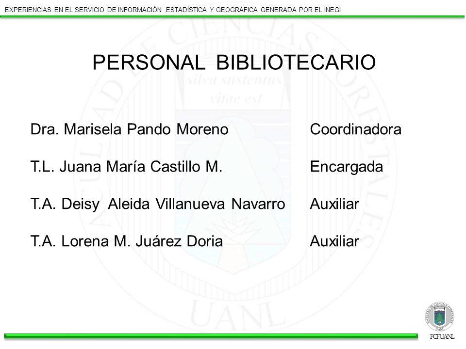 PERSONAL BIBLIOTECARIO