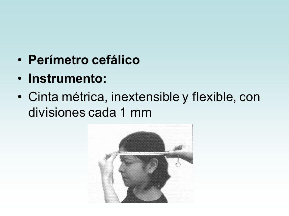 Cinta métrica, inextensible y flexible, con divisiones cada 1 mm