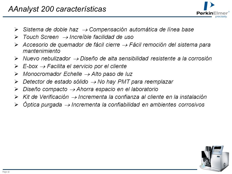AAnalyst 200 características