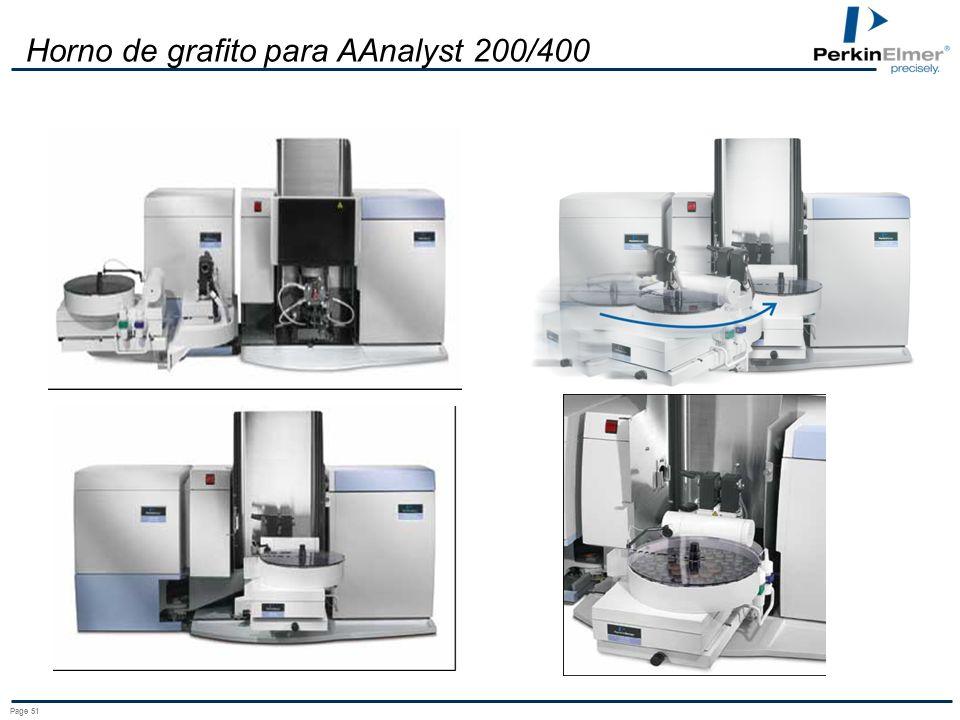 Horno de grafito para AAnalyst 200/400