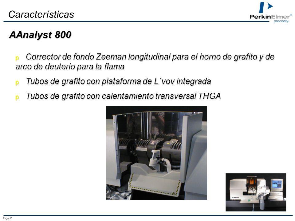 Características AAnalyst 800