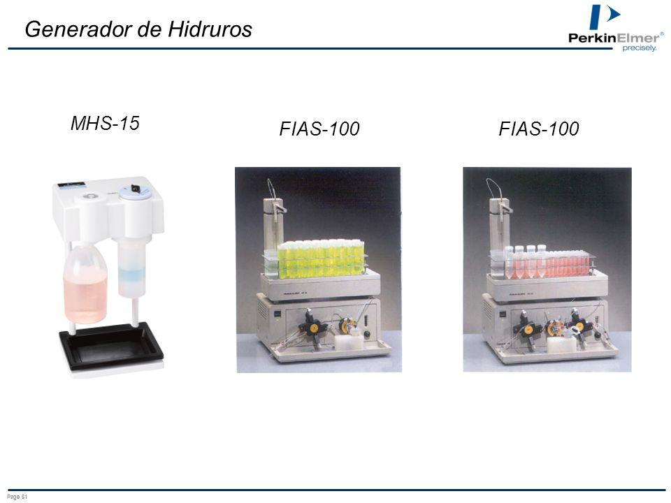 Generador de Hidruros MHS-15 FIAS-100 FIAS-100 Page 61