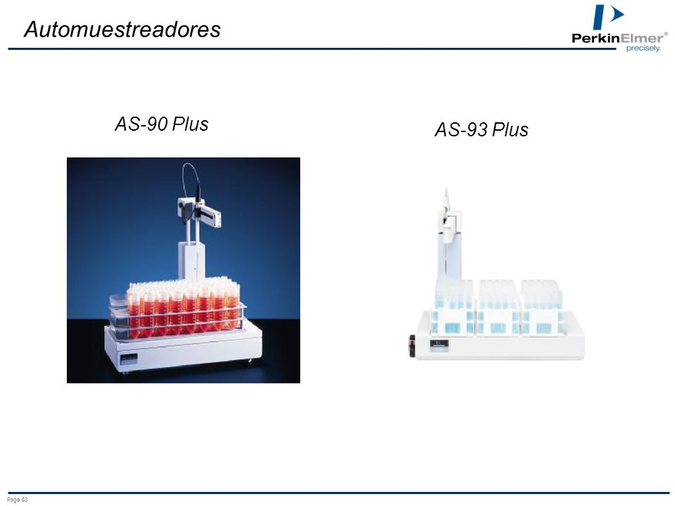 Automuestreadores AS-90 Plus AS-93 Plus Page 63