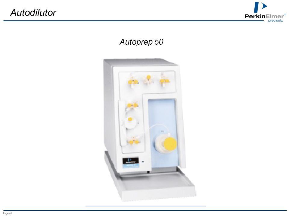 Autodilutor Autoprep 50 Page 64
