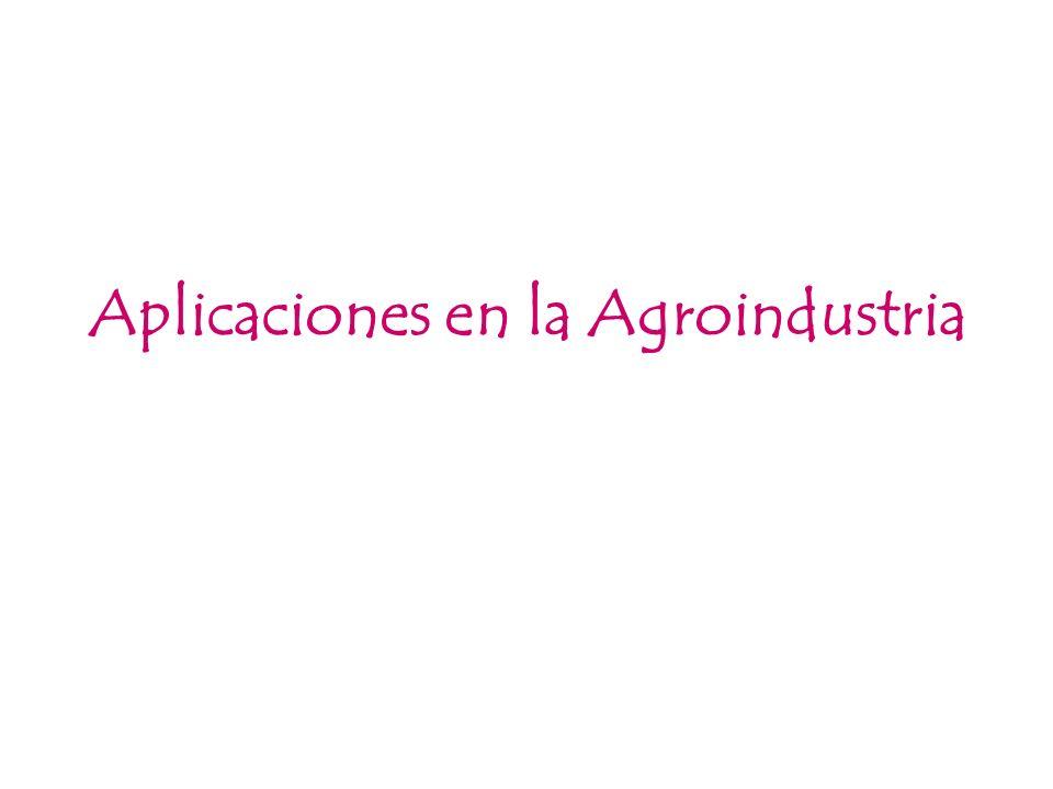 Aplicaciones en la Agroindustria
