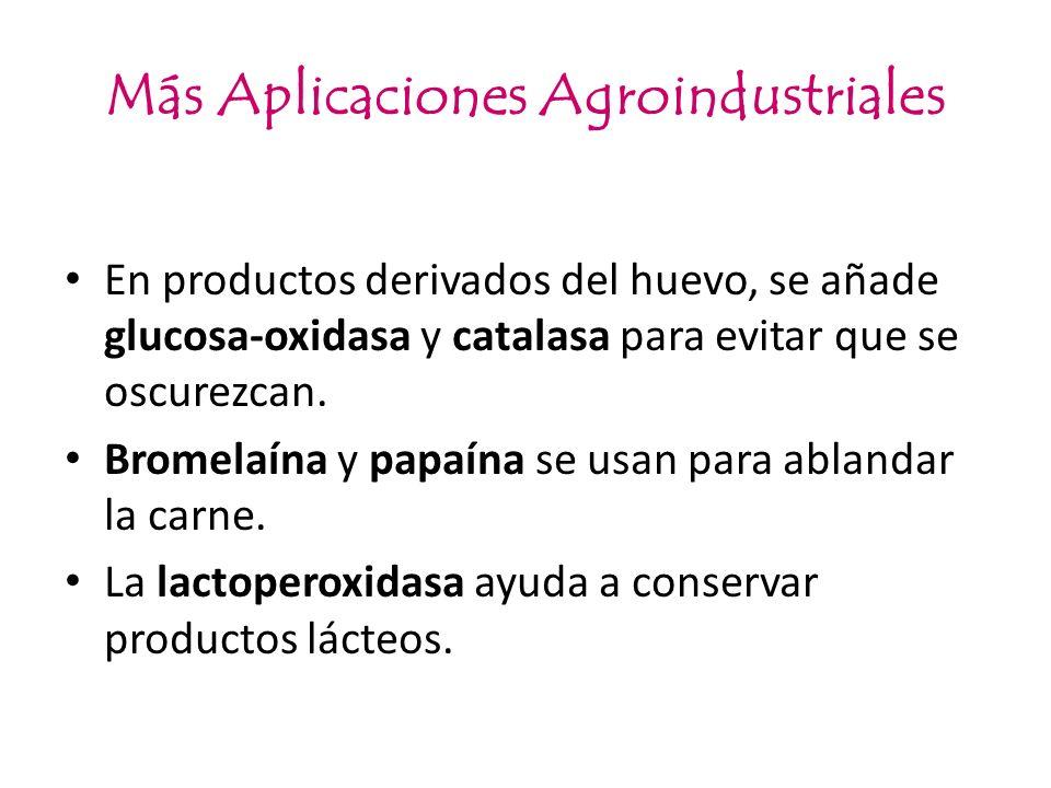 Más Aplicaciones Agroindustriales