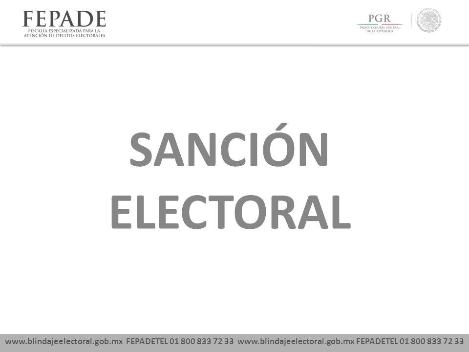 SANCIÓN ELECTORAL