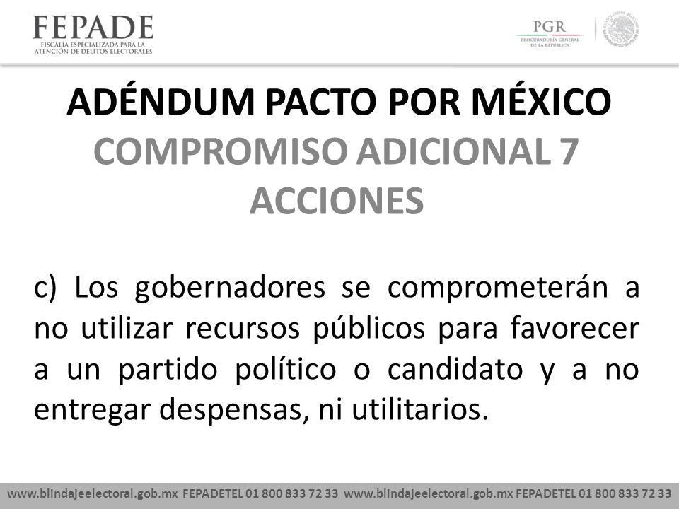 ADÉNDUM PACTO POR MÉXICO