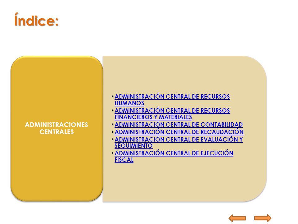ADMINISTRACIONES CENTRALES
