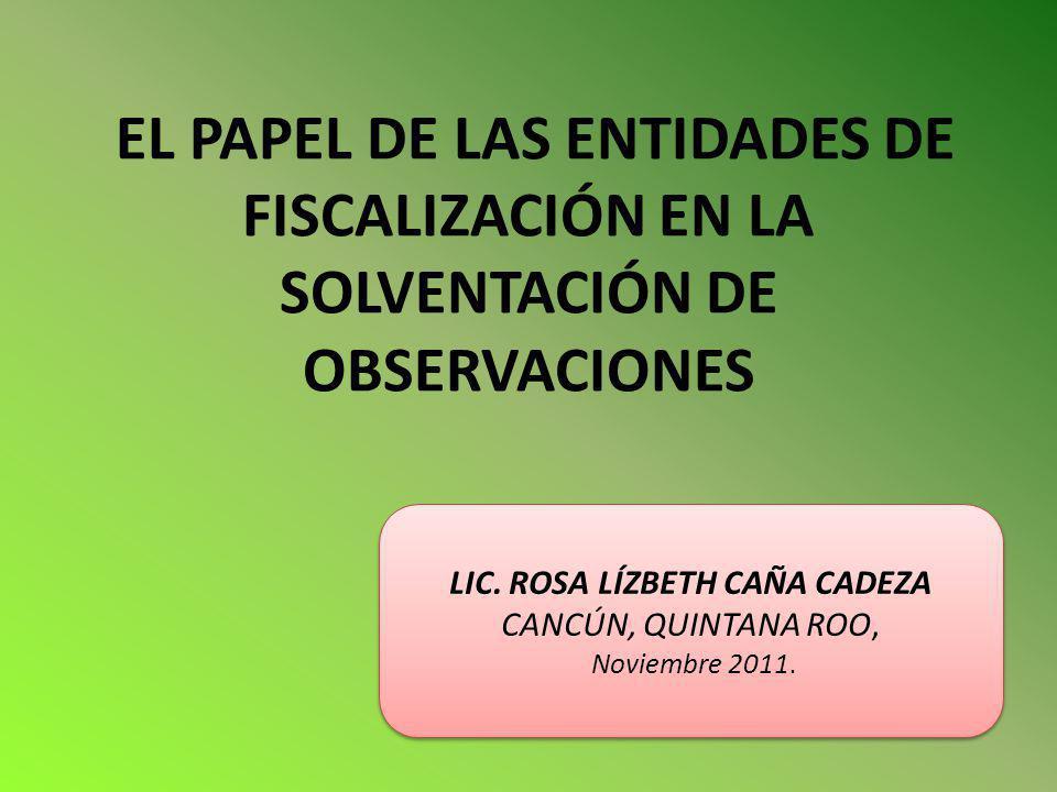 LIC. ROSA LÍZBETH CAÑA CADEZA