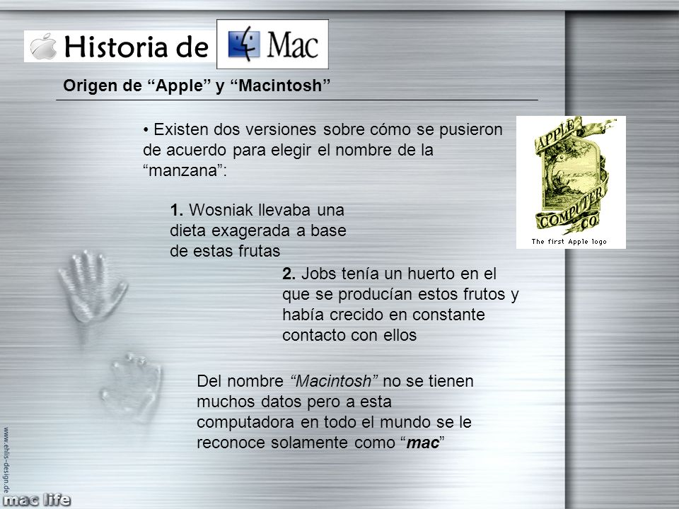 Historia de Mac Origen de Apple y Macintosh
