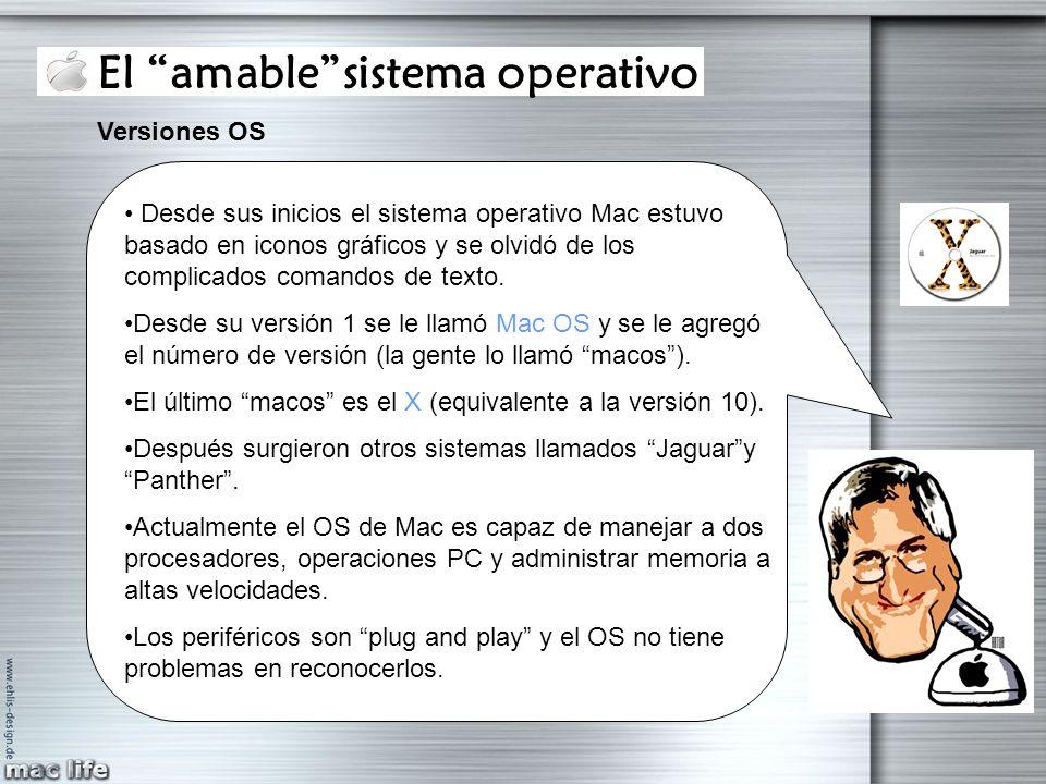 El amable sistema operativo