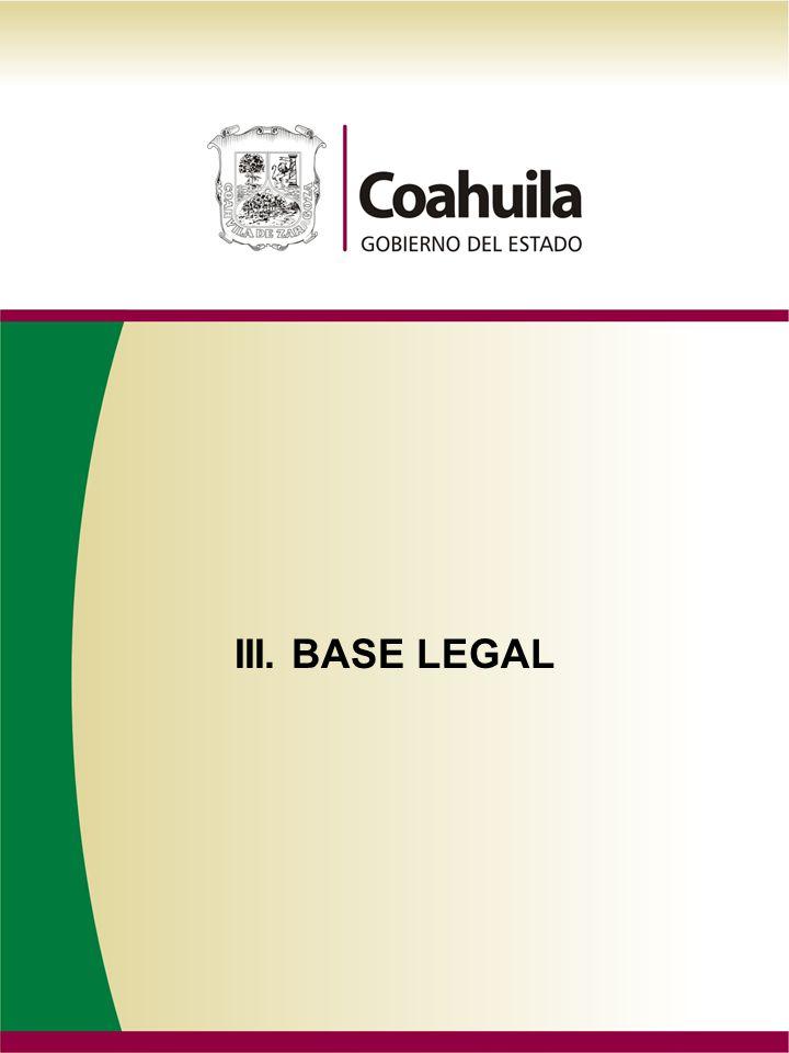 III. BASE LEGAL