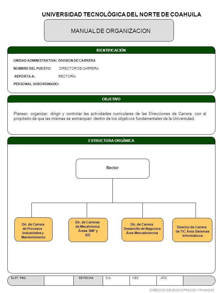 UNIVERSIDAD TECNOLÓGICA DEL NORTE DE COAHUILA Desarrollo de Negocios