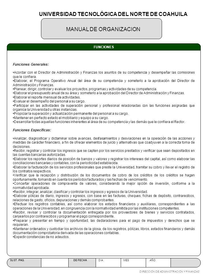 UNIVERSIDAD TECNOLÓGICA DEL NORTE DE COAHUILA