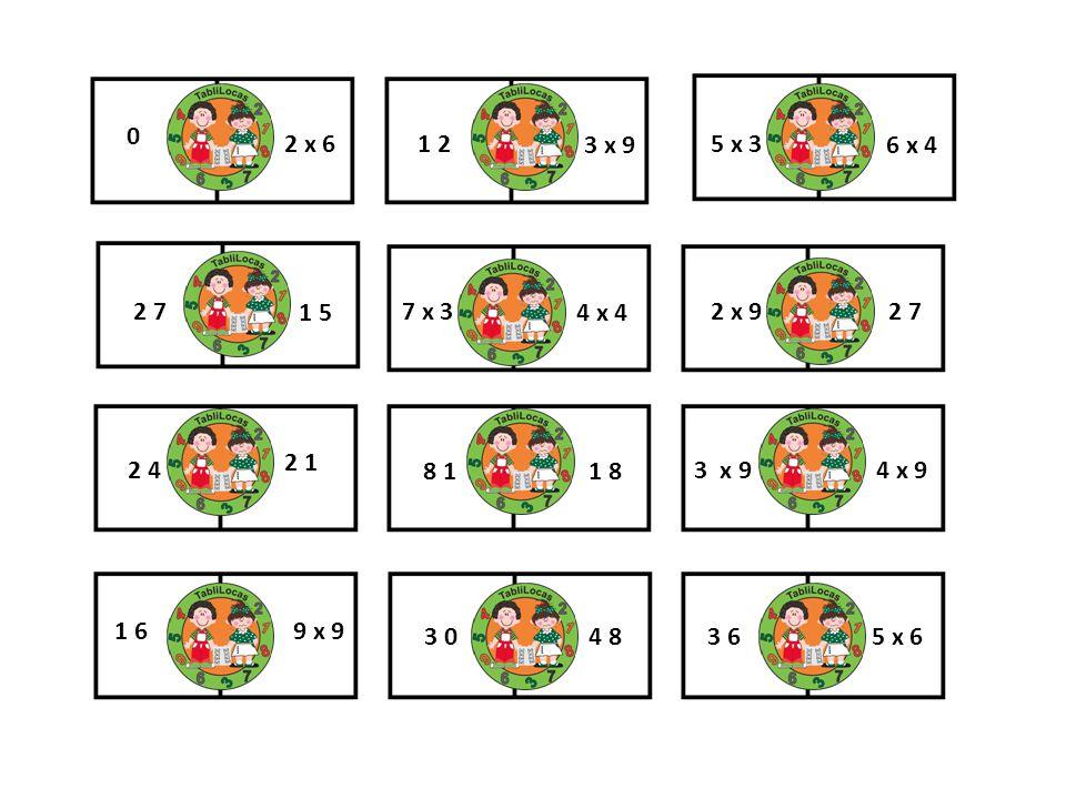 2 x 6 1 2. 3 x 9. 5 x 3. 6 x 4. 2 7. 1 5. 7 x 3. 4 x 4. 2 x 9. 2 7. 2 1. 2 4. 8 1. 1 8.