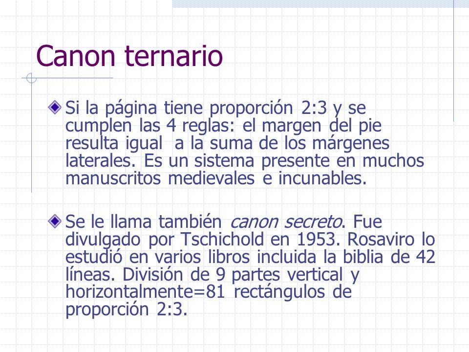 Canon ternario