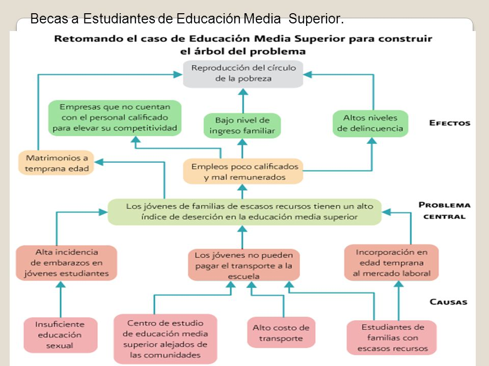 Becas a Estudiantes de Educación Media Superior.