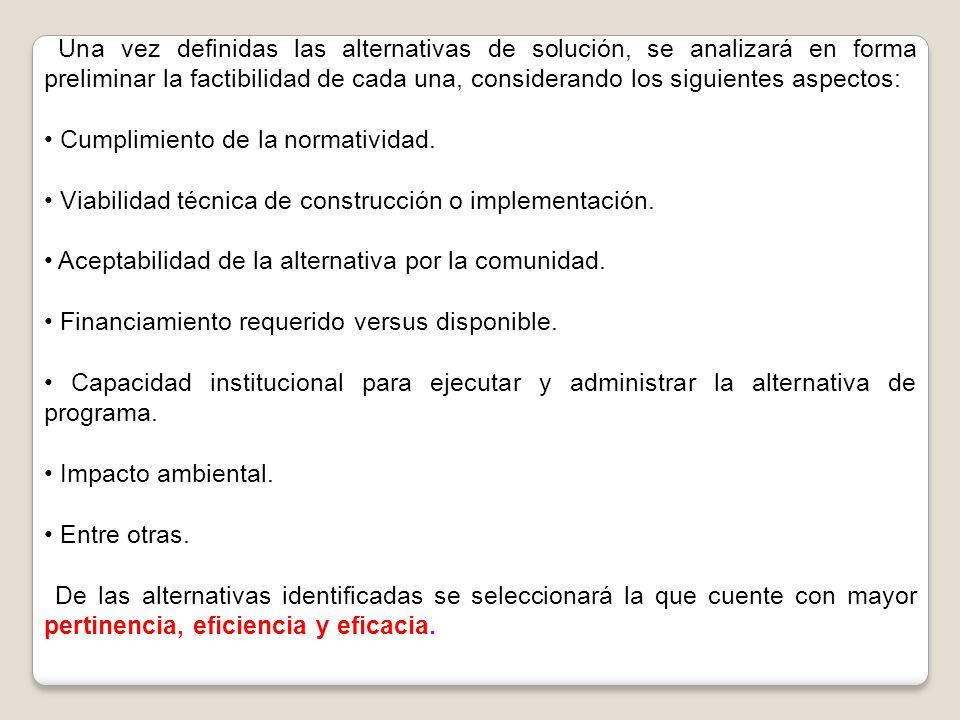 • Cumplimiento de la normatividad.