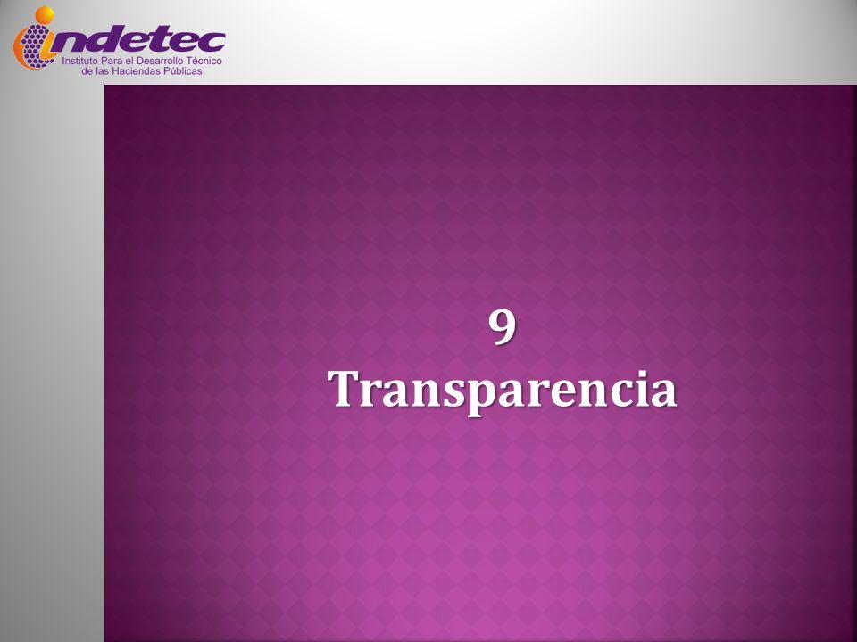 9 Transparencia