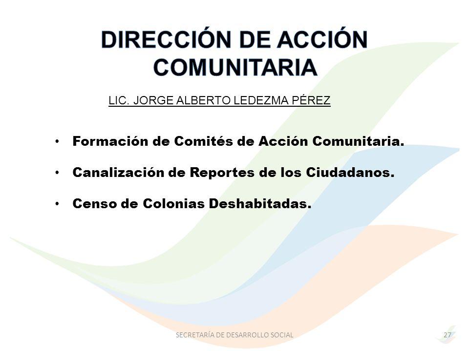 DIRECCIÓN DE ACCIÓN COMUNITARIA