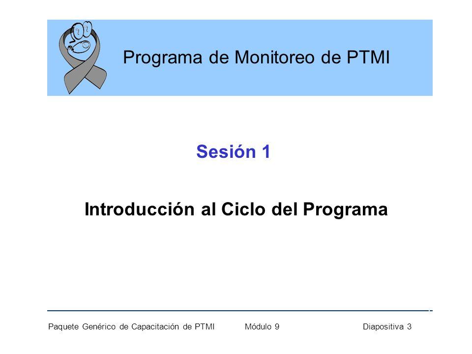 Introducción al Ciclo del Programa